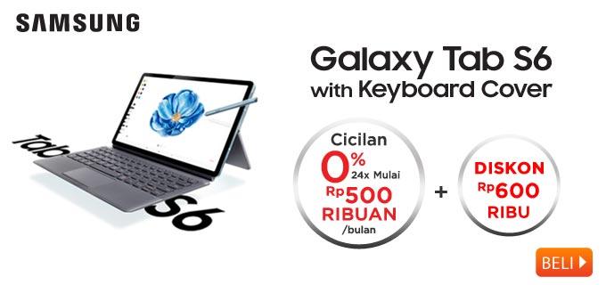 Samsung Galaxy Tab S6 Bundling Keyboard Cover