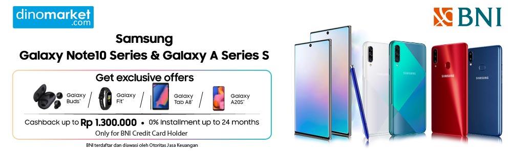 Samsung Galaxy Note 10 | A series - BNI