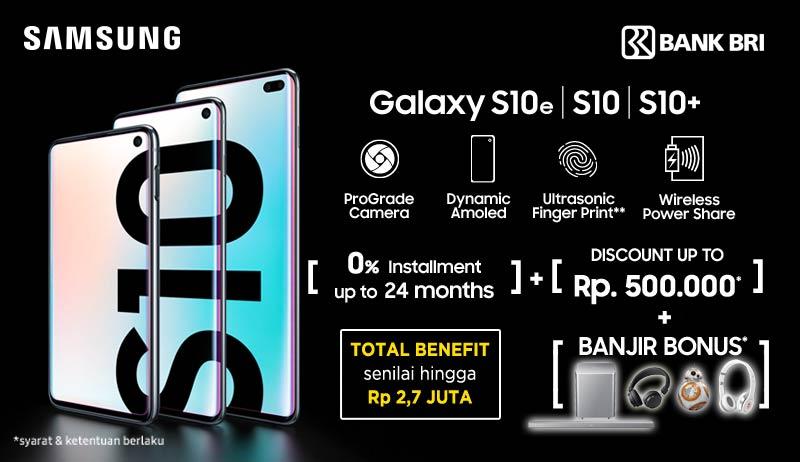 Samsung S10 Promo