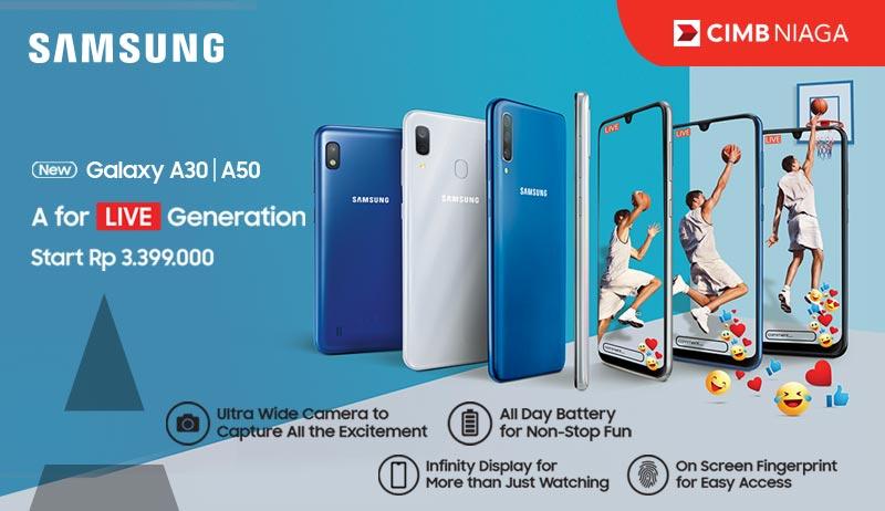 Samsung A30 A50 Series