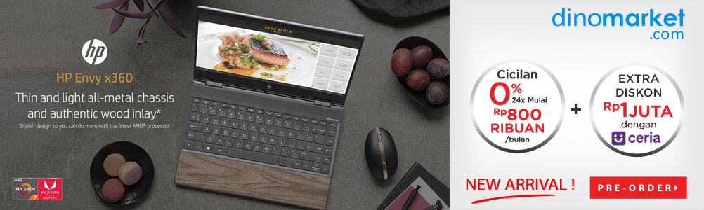 HP Envy x360 Wood Edition