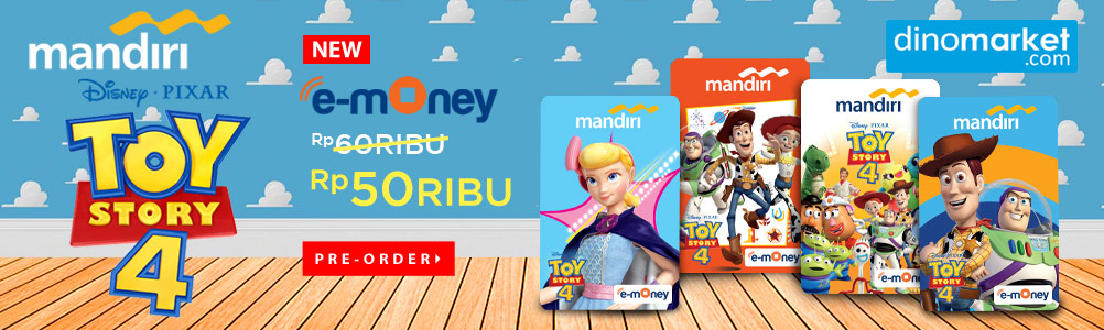 mandiri e money toy story
