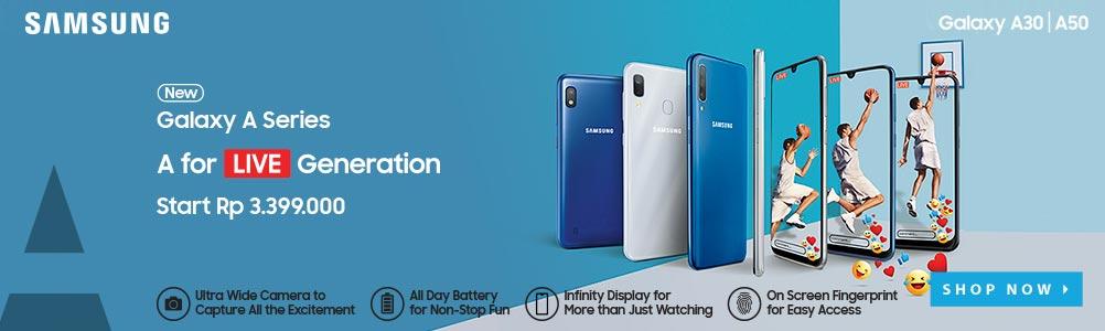 Samsung Galaxy A30 & A50