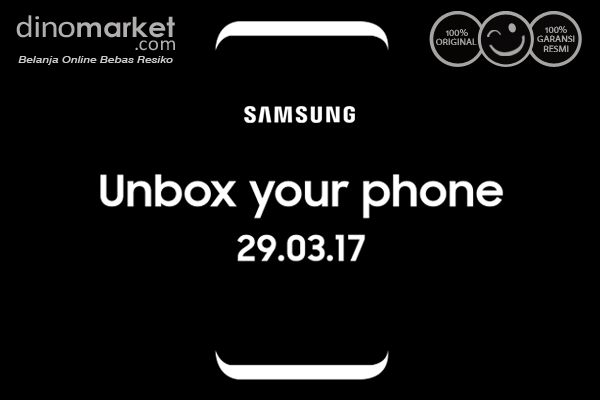Samsung Galaxt S8 Unbox