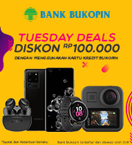 Bukopin Tuesday Deals