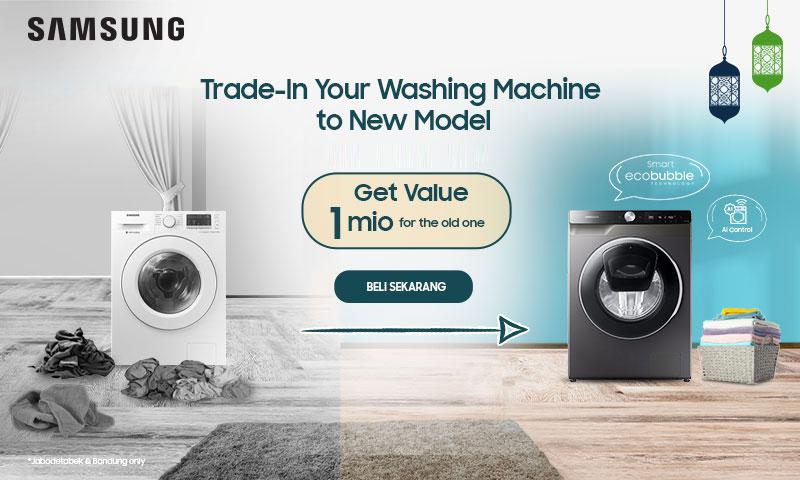 trade in mesin cuci