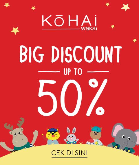 Wakai Kohai Discount