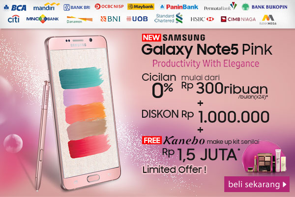 Galaxy Note 5 Pink