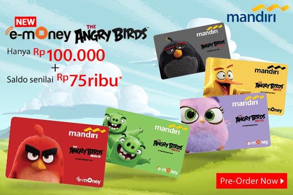 Mandiri eMoney Angry Bird