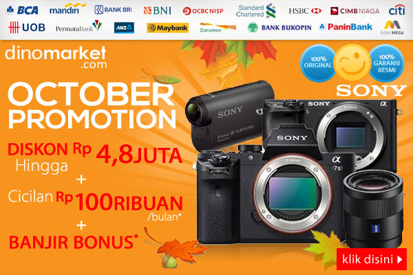 Sony October Promotion