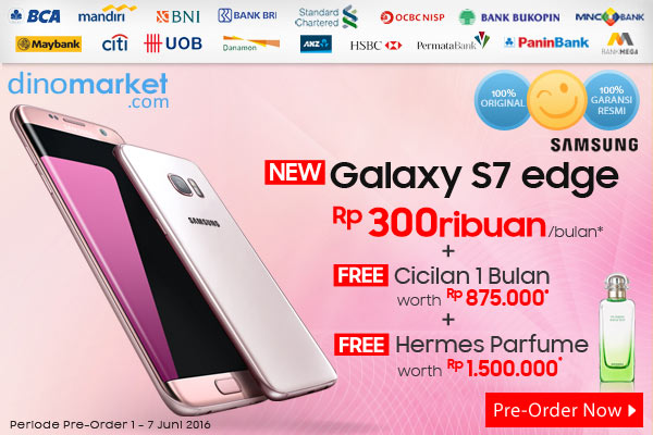 Samsung S7 Edge Pink