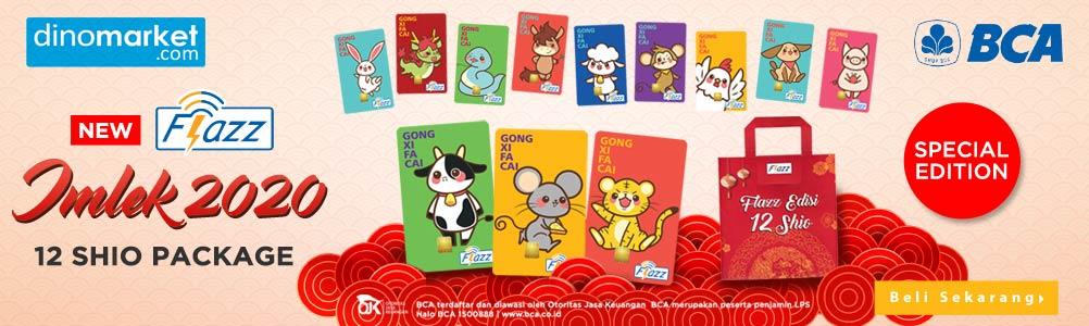 BCA Flazz 12 Shio Package
