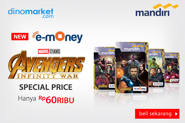 Mandiri E-Money  Avenger Infinity War