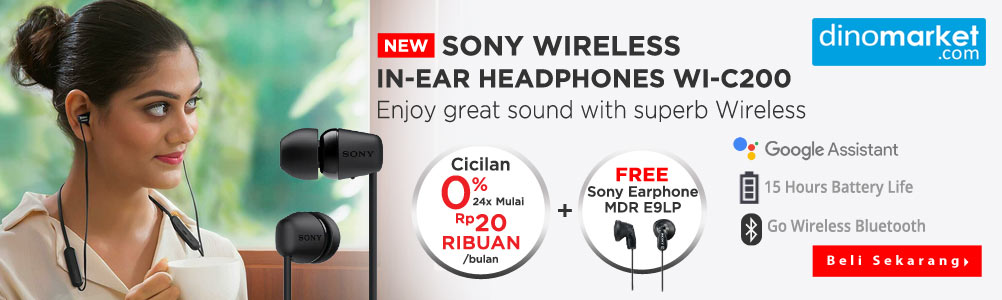 Promo Sony headphone