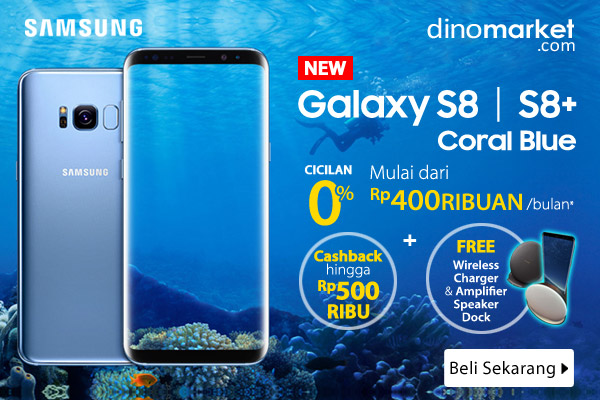 NEW Samsung Galaxy S8 & S8+ Coral Blue