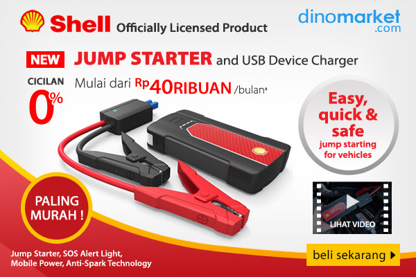 NEW Shell Jump Powerbank Starter + USB Charger SH990