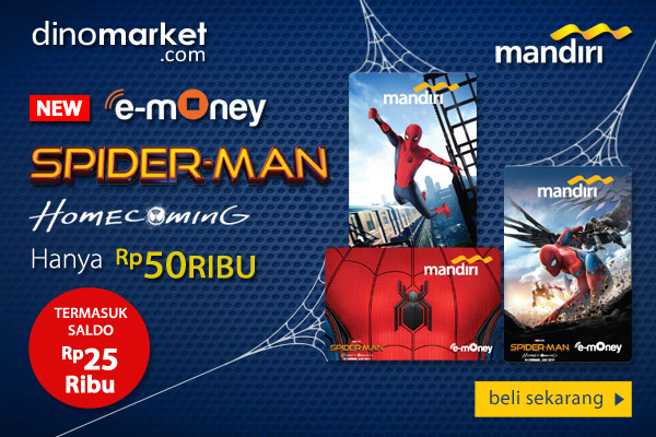 Mandiri-eMoney-Spiderman