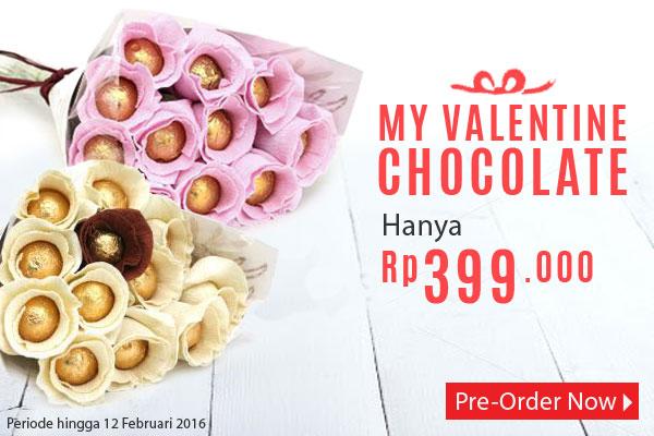 Valentine Coklat
