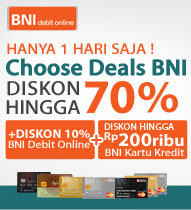 BNI Debit Kredit