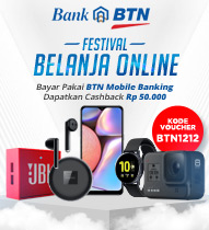 BTN Mobile Banking Festival Belanja Online