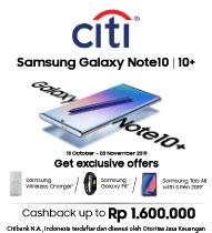 Samsung Galaxy Note10 Citibank Oktober