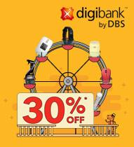 Digibank DBS 30 percent