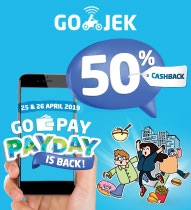 Gopay Payday April