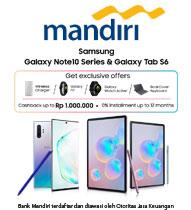 Samsung Galaxy Note10 & Tab S6 Mandiri