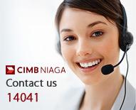 Contact us CIMB Niaga